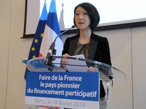 2014-02-04 Fleur Pellerin financement participatif