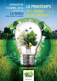 Affiche-Printemps des jardins énergies le rheu
