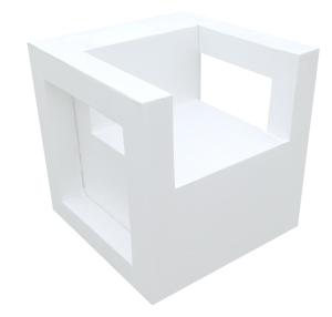 Club Cube Nkita eco-designer