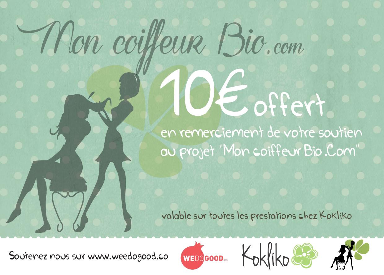 kokliko bon 10 euros contre investissement WEDOGOOD