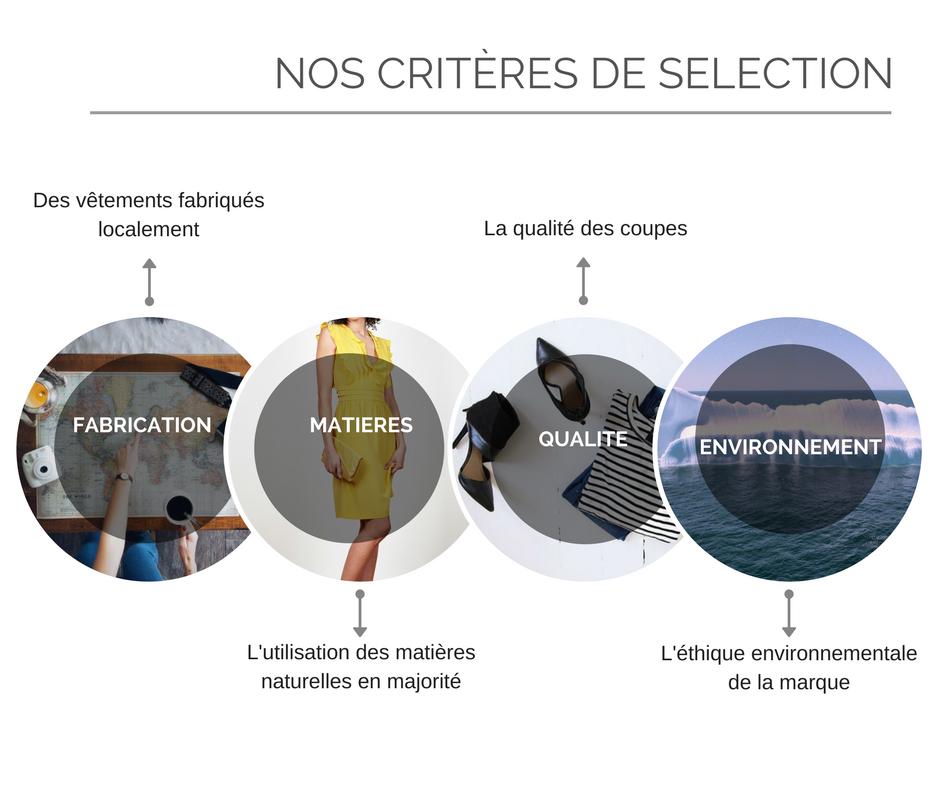 criteres de selection