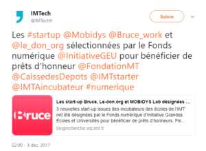 l'IMT incube MOBiDYS