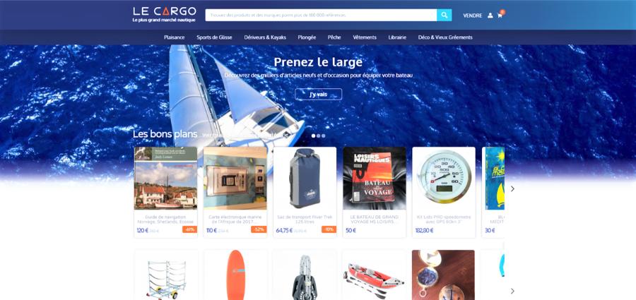 banner LE CARGO Δ Le plus grand marché nautique