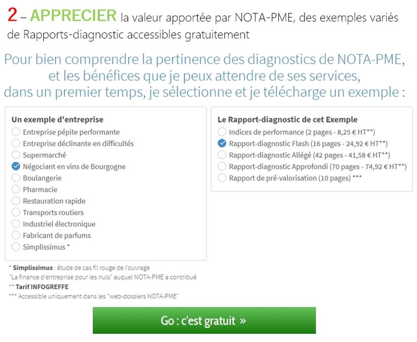 Exemples de Rapports-diagnostic
