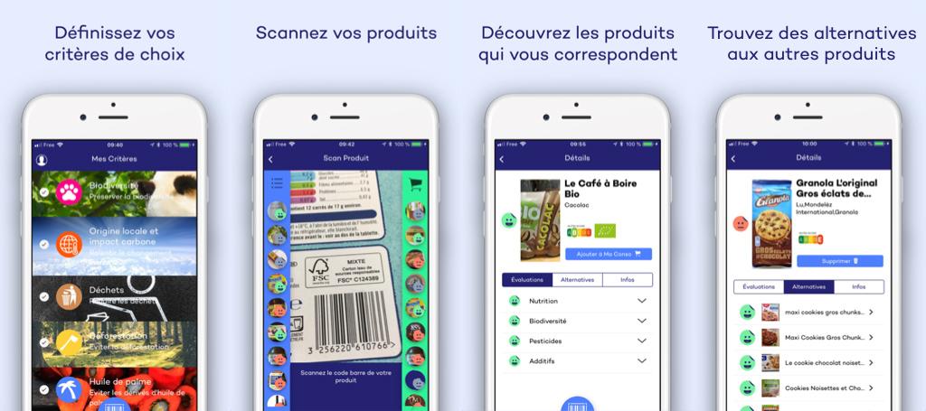 L'application citoyenne myLabel pour scanner ses produits
