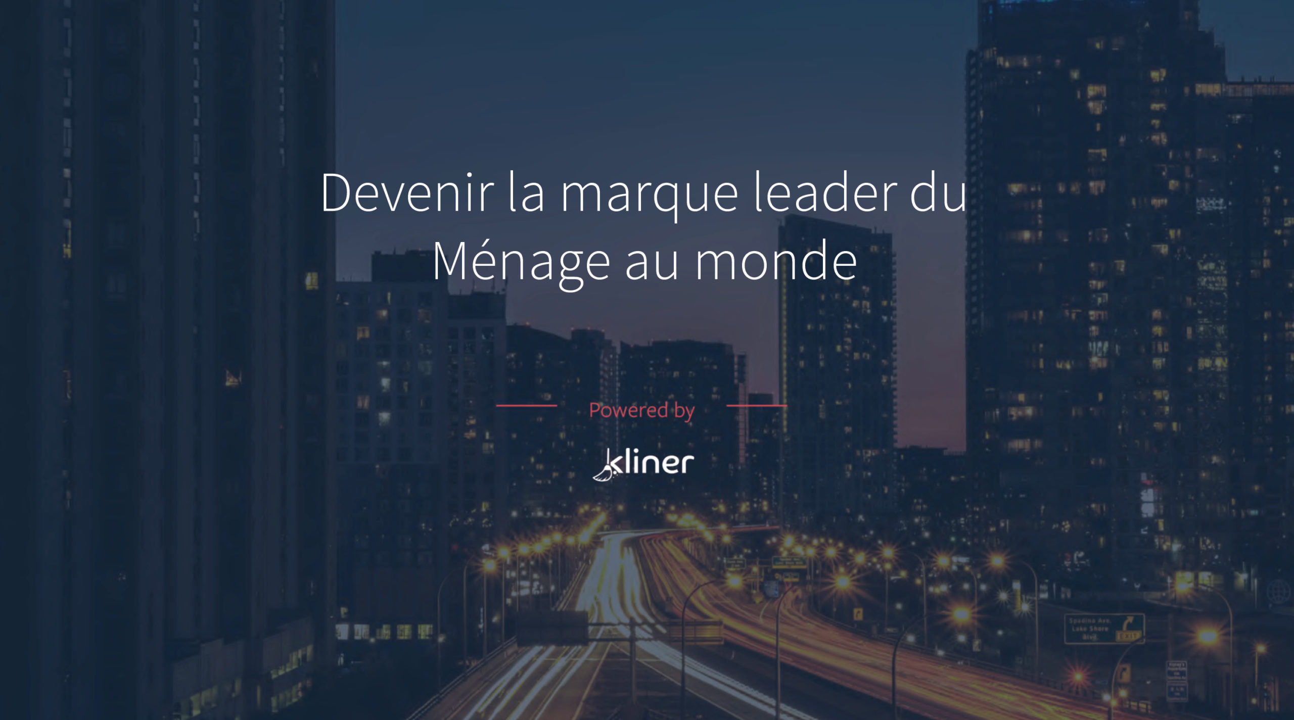 banner KLINER