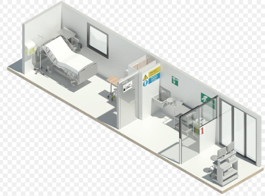 Unité de réanimation conçus par SmartBox Industry