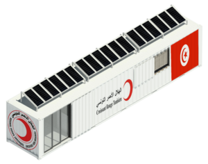 SmartBox Industry unité réanimation solaire