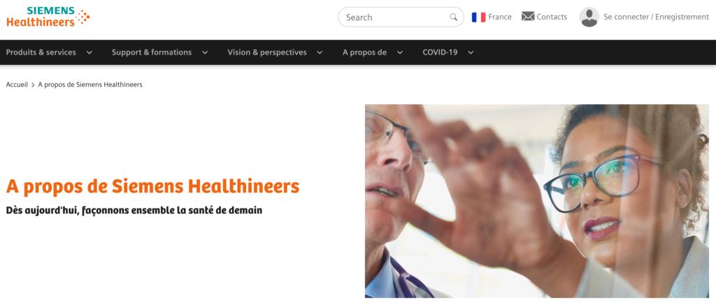 Partenariat Siemens Healthineers SmartBox Industry